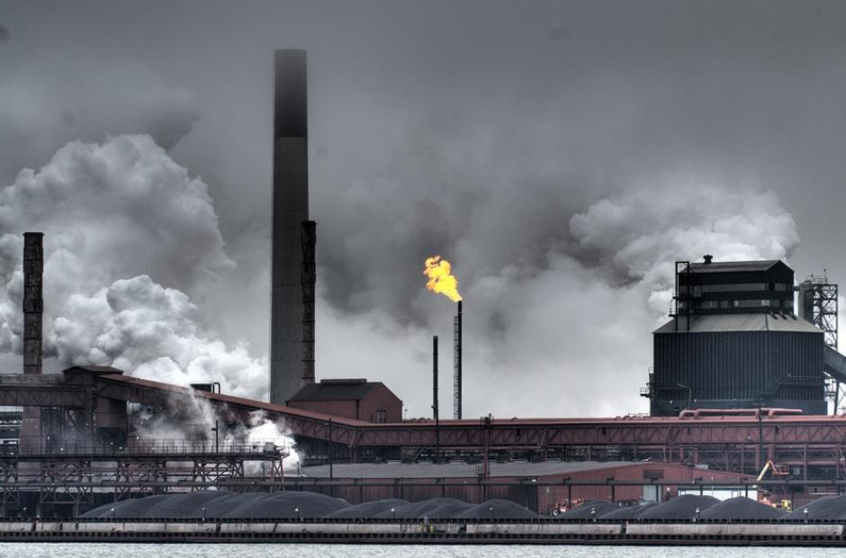 """Hamilton steel mill, Canada"""